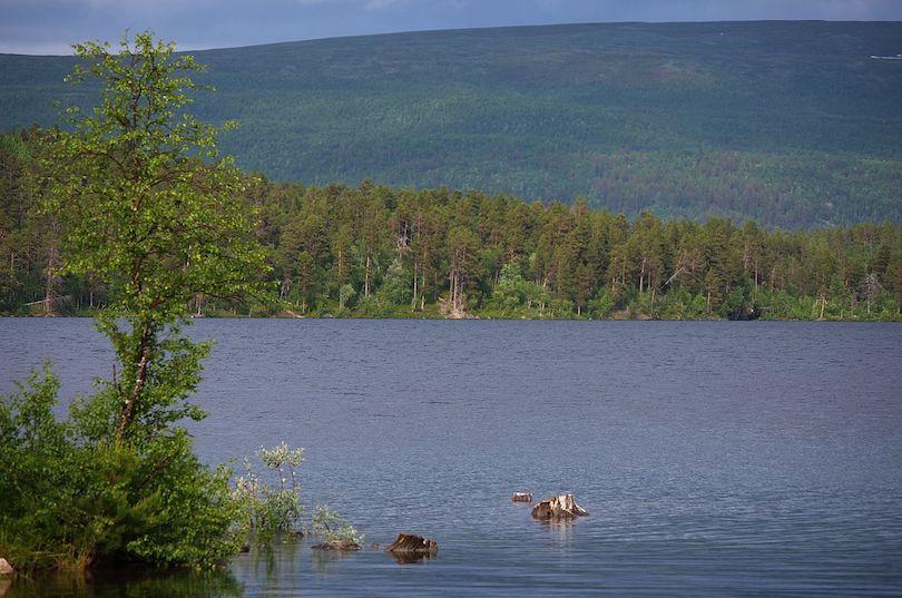 بحيرات السويد