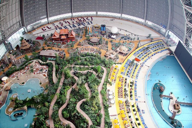 Tropical Islands Resort inside