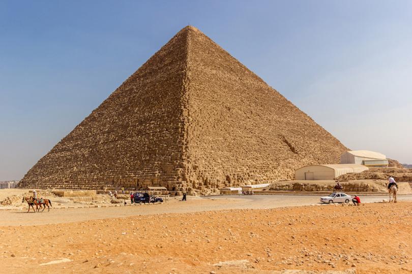 # 1 de las pirámides más grandes del mundo