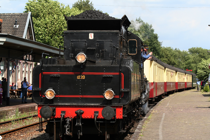 Miljoenenlijn Steam Train