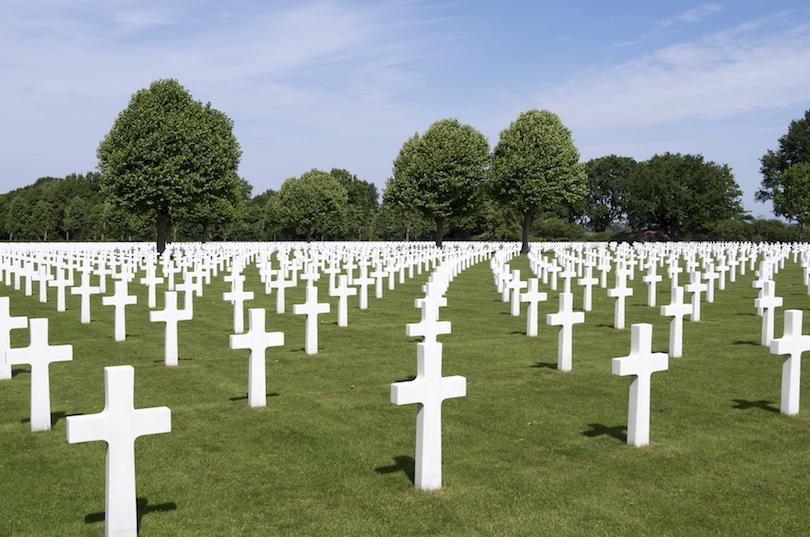 Cementerio y monumento americano de los Países Bajos