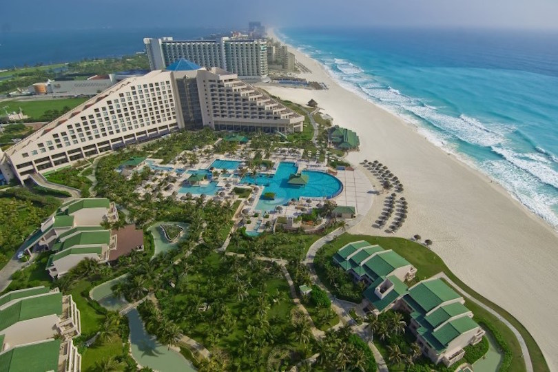 Cancun Map Of Hotels And Resorts on