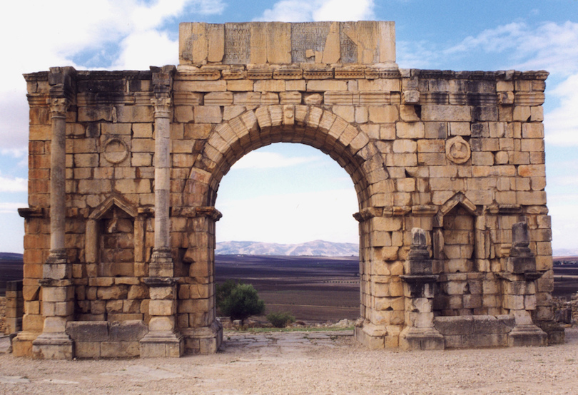 Arch of Caracalla at Volubilis