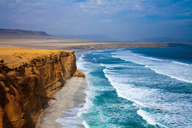 Paracas Sea Cliffs