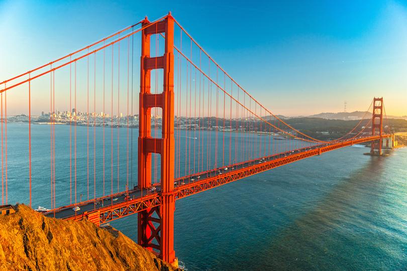 Puente de puerta de oro