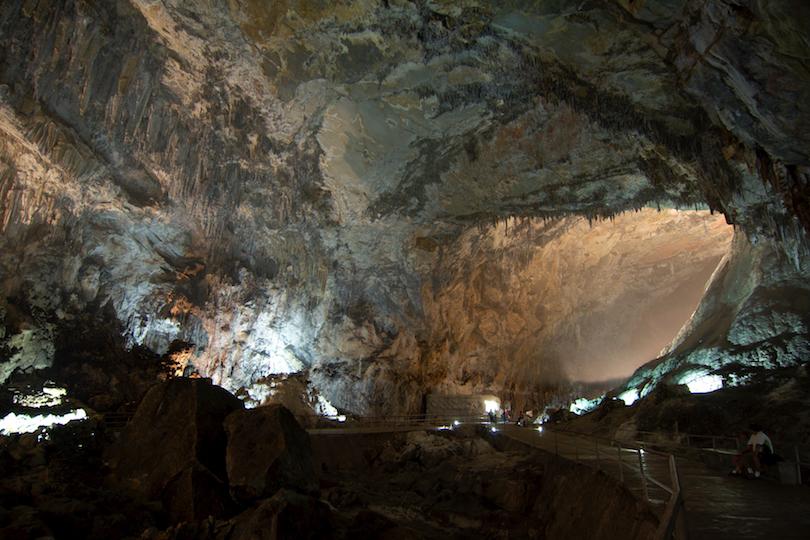 غارهای پارک ملی Cacahuamilpa