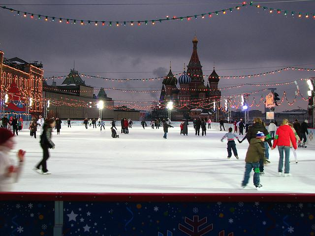Red Square Ice Rink
