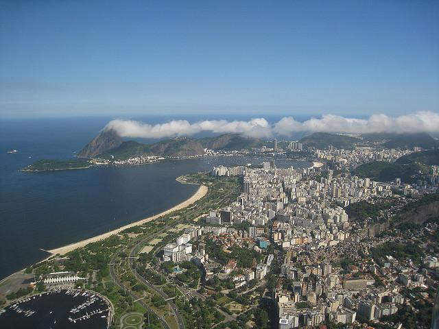 Rio from the Plane