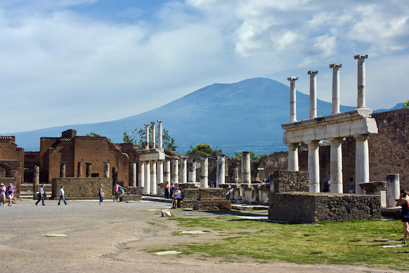 Forum of Pompeii