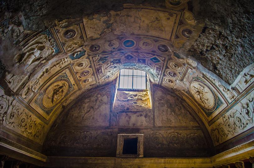 Baños termales de Pompeya