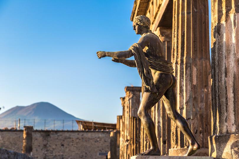 Templo de Apolo, Pompeya