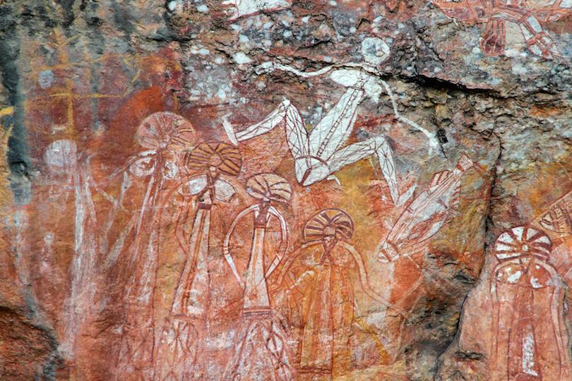 Pinturas rupestres de Kakadu