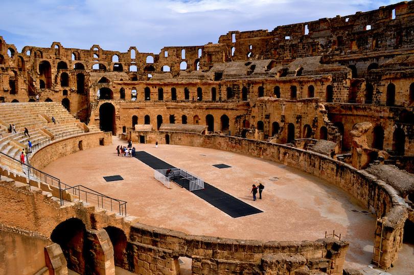 10 Famous Roman Amphitheaters With Photos Amp Map Touropia
