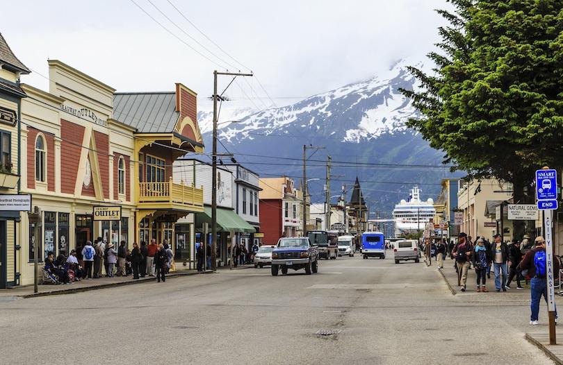 # 1 de pueblos pequeños en Alaska