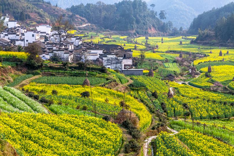 Pueblos de Wuyuan