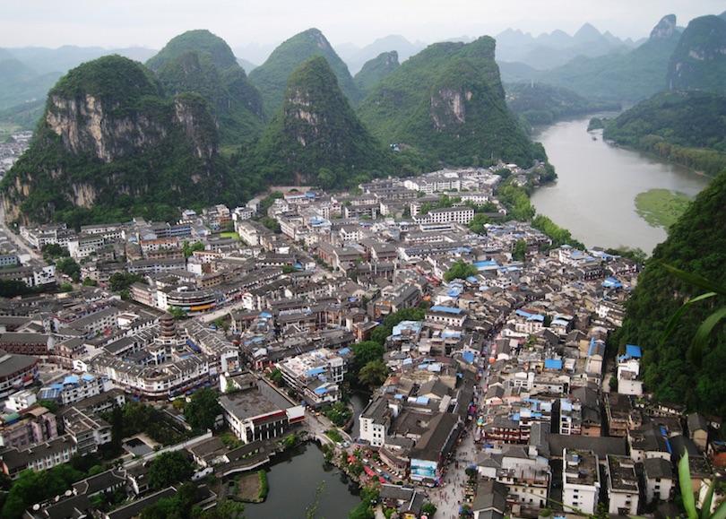 # 1 de pueblos pequeños en China