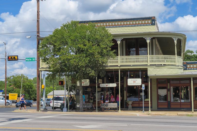 # 1 de pueblos pequeños en Texas
