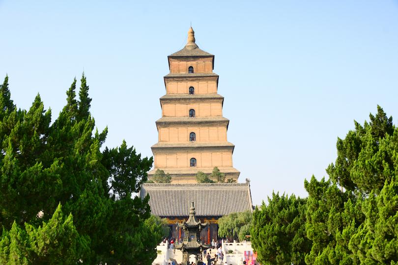 Gran Pagoda del Ganso Salvaje