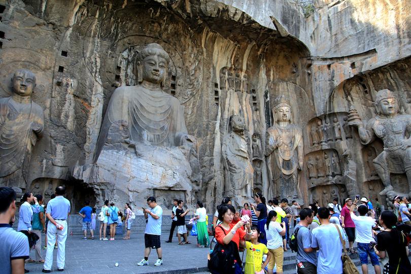 Templos de la cueva de Longmen