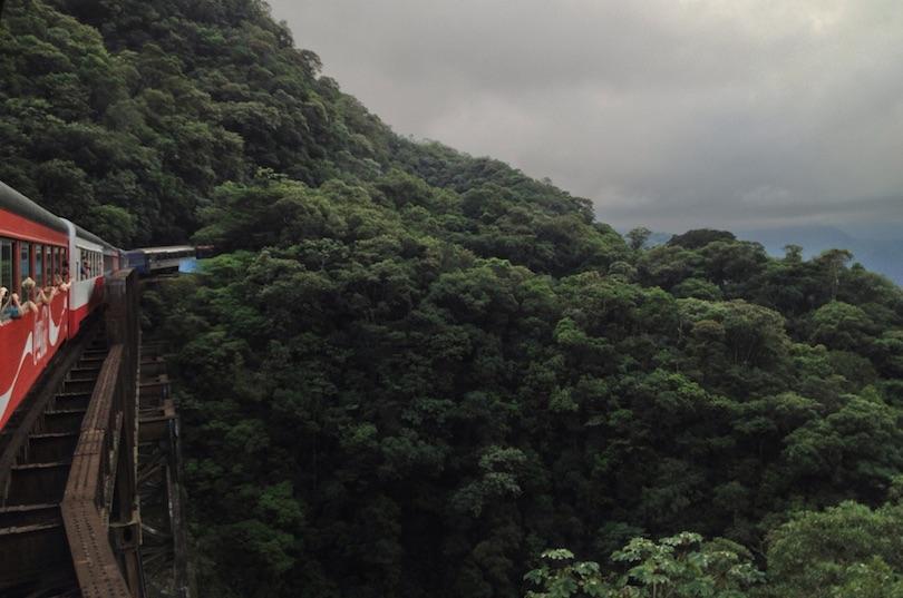 Curitiba-Paranagua Train Ride