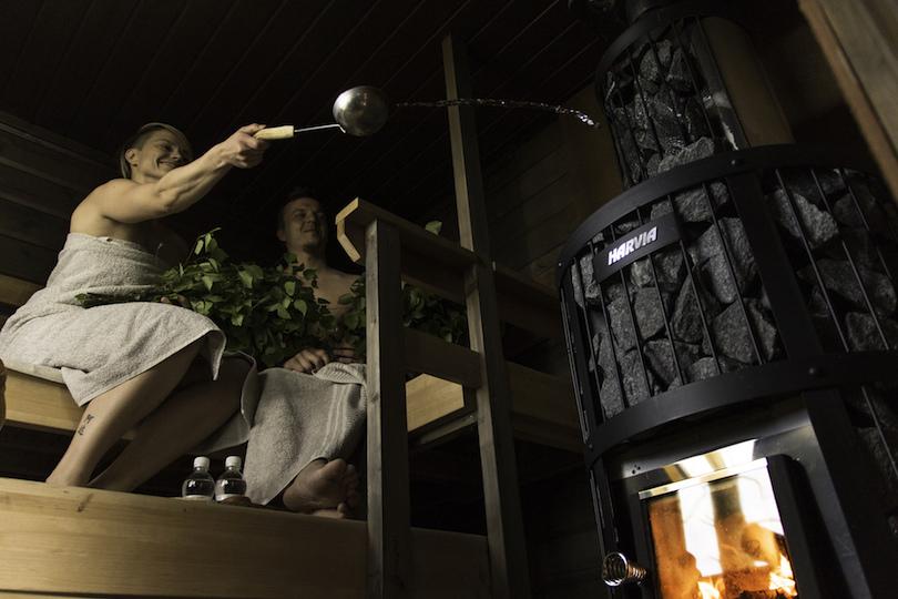 Experience a Finnish Sauna