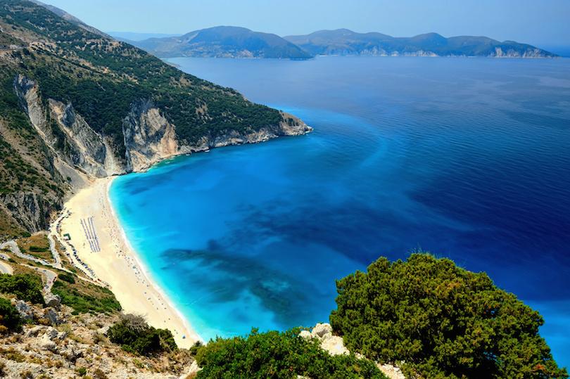 # 1 de las mejores playas de Grecia