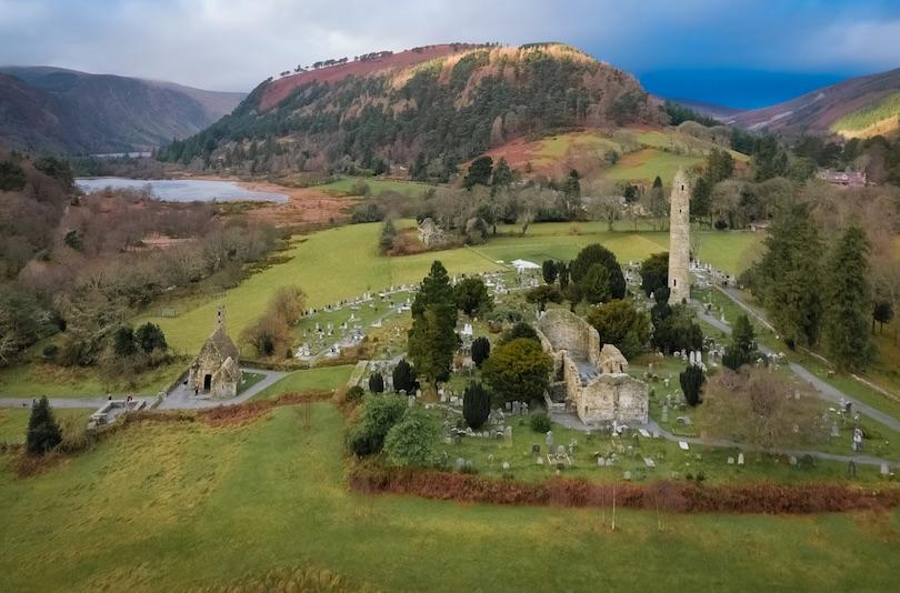Sitio monástico de Glendalough