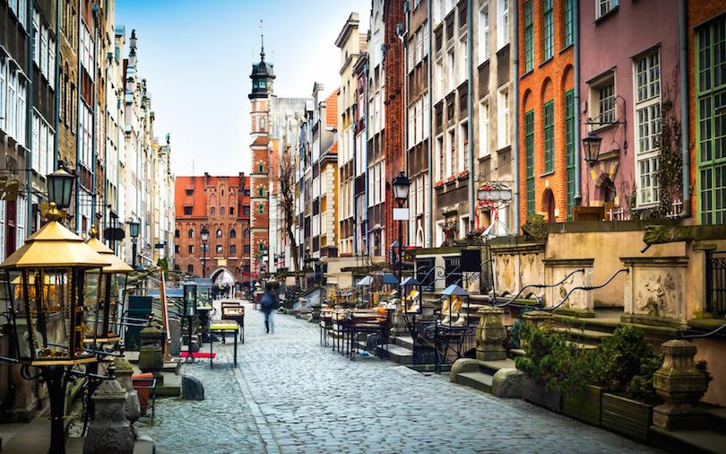 Casco antiguo de Gdansk
