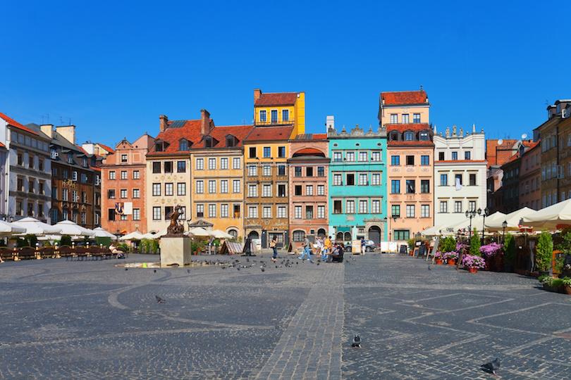 Antiguo mercado de Varsovia