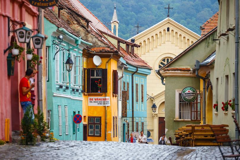 Centro histórico de Sighisoara