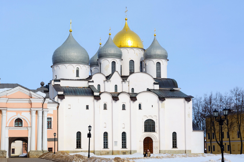 Catedral de Santa Sofía, Novgorod