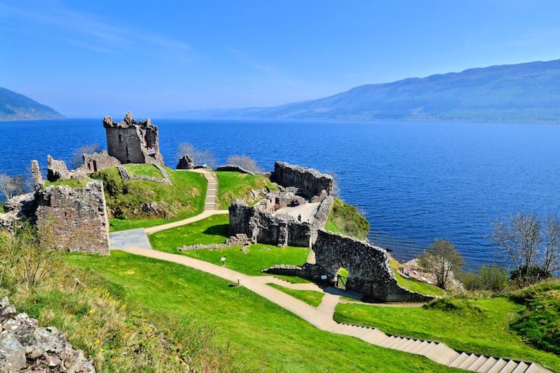 # 1 de lagos en Escocia