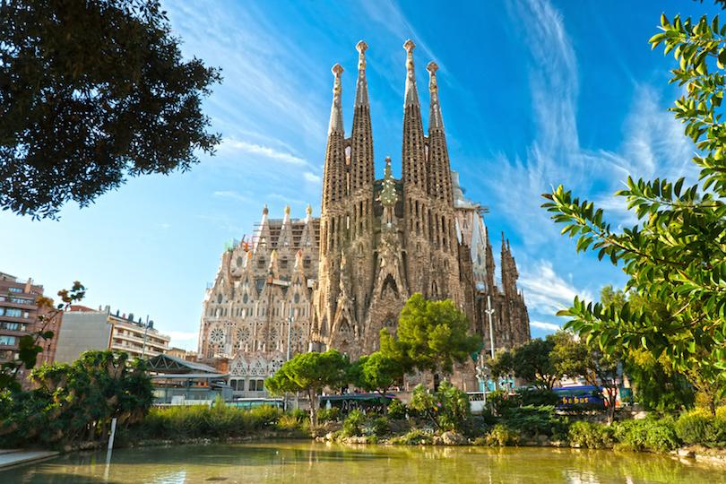 sagrada_familia ▷ 25 atracciones turísticas principales en Europa