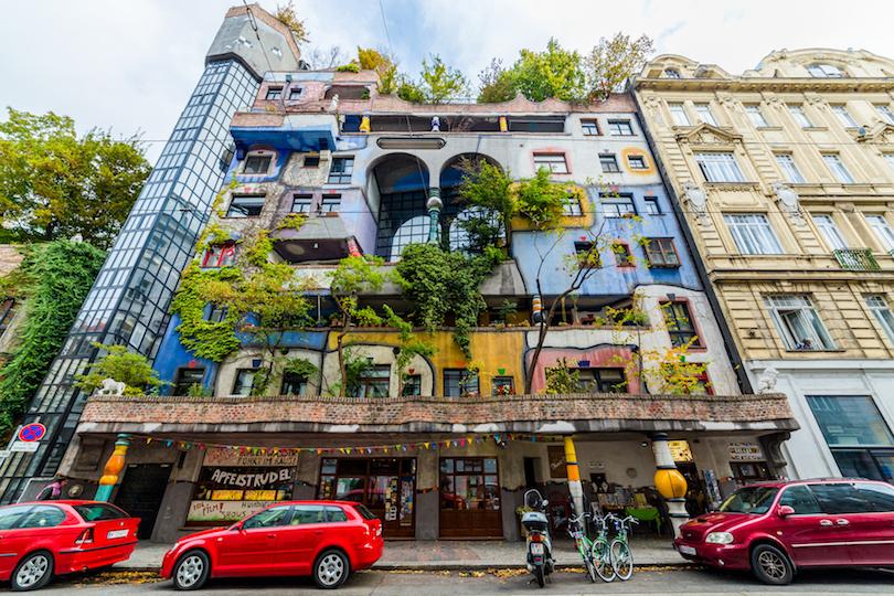 # 1 de la arquitectura Hundertwasser