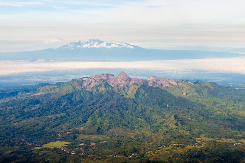 12 آتشفشان شگفت انگیز در اندونزی