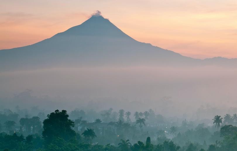 کوه Merapi