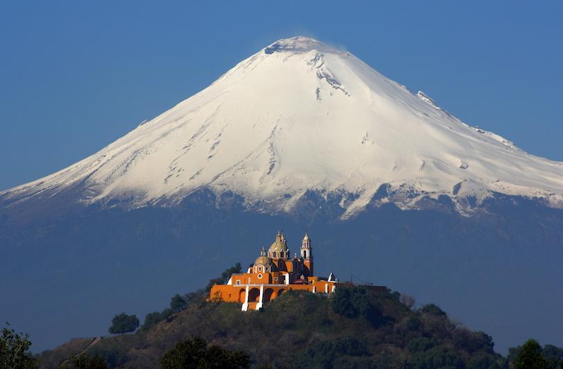 12 آتشفشان شگفت انگیز در مکزیک