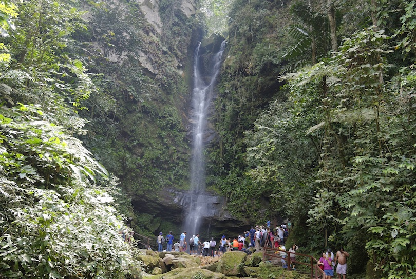 Ahuashiyacu Waterfall