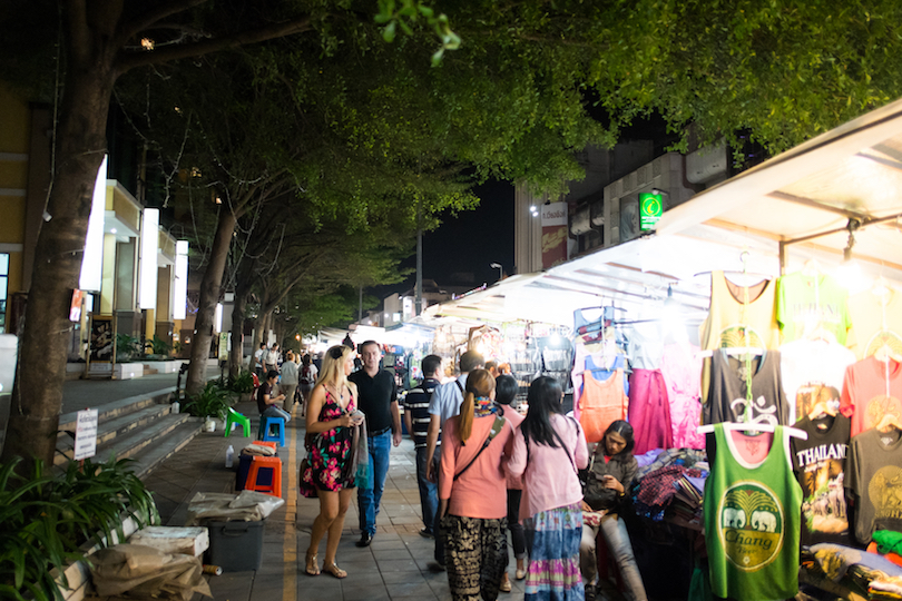 Night Bazaar Area
