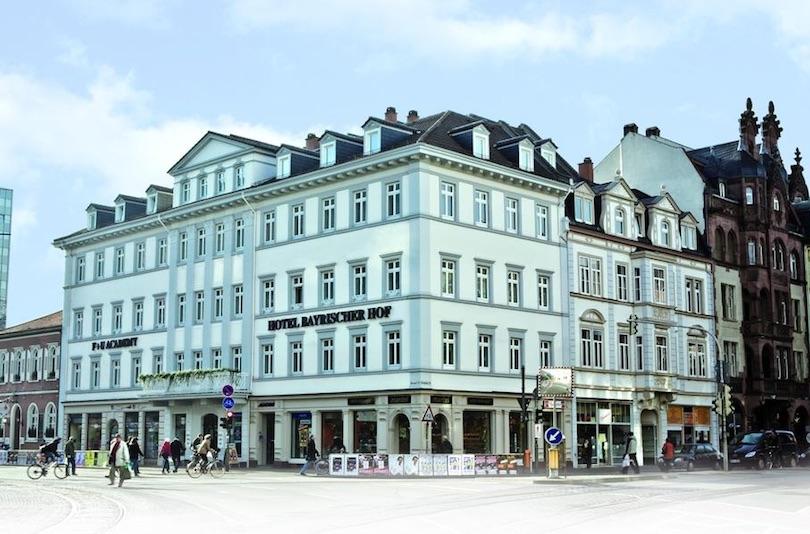 hotel_bayrischer_hof ▷ 8 mejores lugares para alojarse en Heidelberg