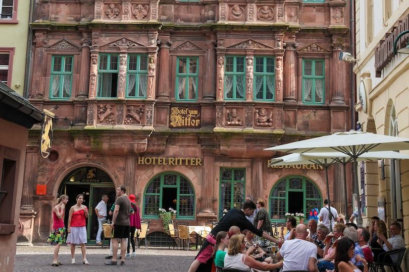 hotel_zum_ritter_st_georg ▷ 8 mejores lugares para alojarse en Heidelberg