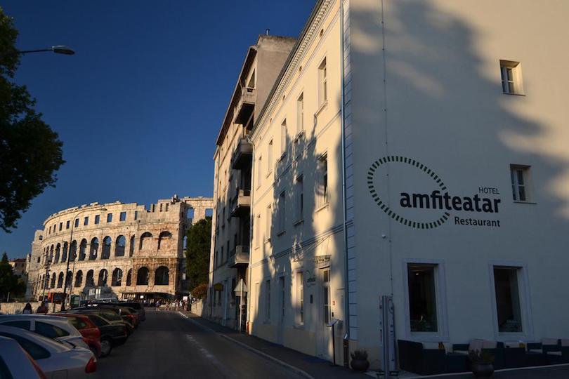 hotel_amfiteatar ▷ 8 mejores lugares para alojarse en Pula