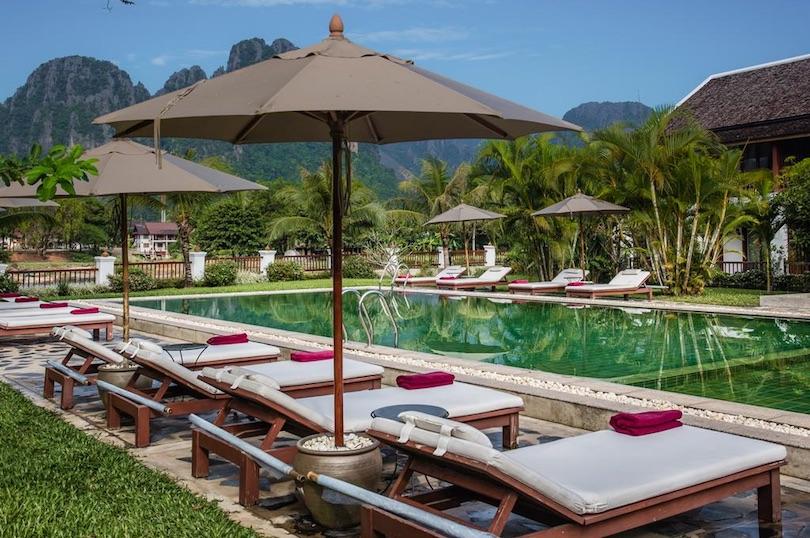 riverside_boutique_resort ▷ 8 mejores lugares para alojarse en Vang Vieng