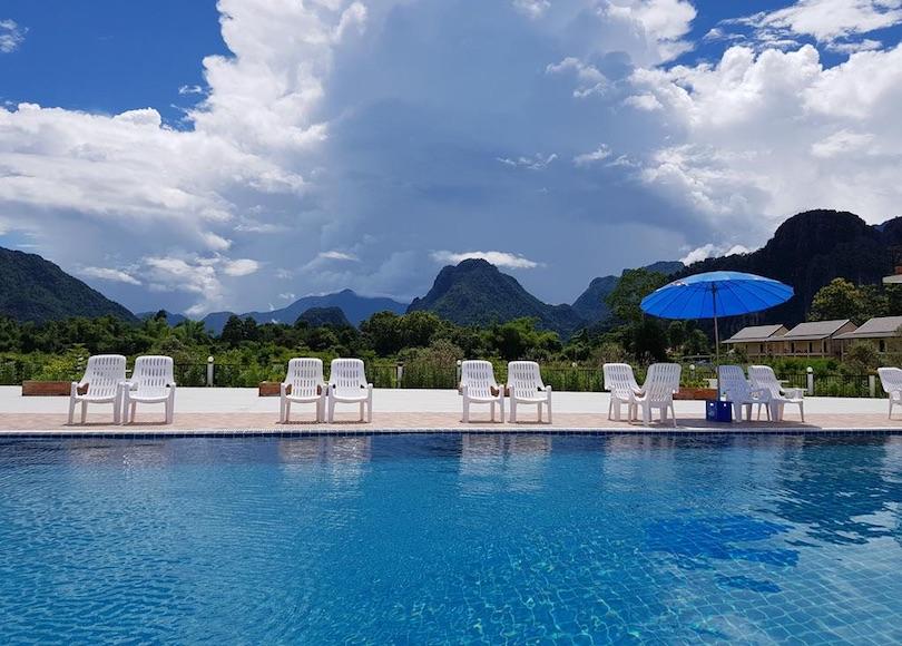 simon_riverside_hotel ▷ 8 mejores lugares para alojarse en Vang Vieng