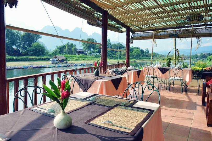 villa_nam_song ▷ 8 mejores lugares para alojarse en Vang Vieng