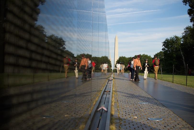 Muro conmemorativo de los veteranos de Vietnam